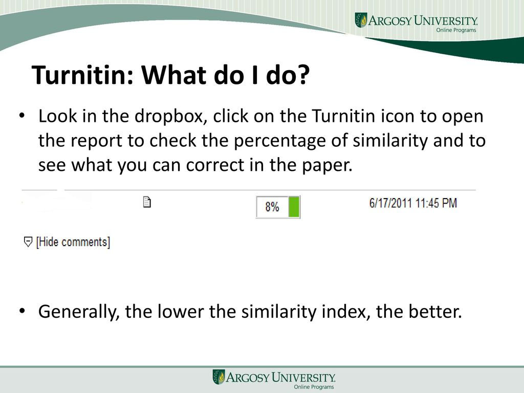 what does turnitin check