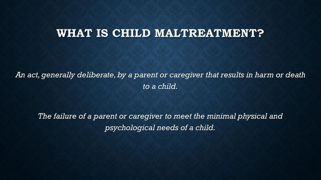 Overcoming Childhood Trauma How Parents >> Overcoming Childhood Trauma Long Term Effects Of Early Maltreatment