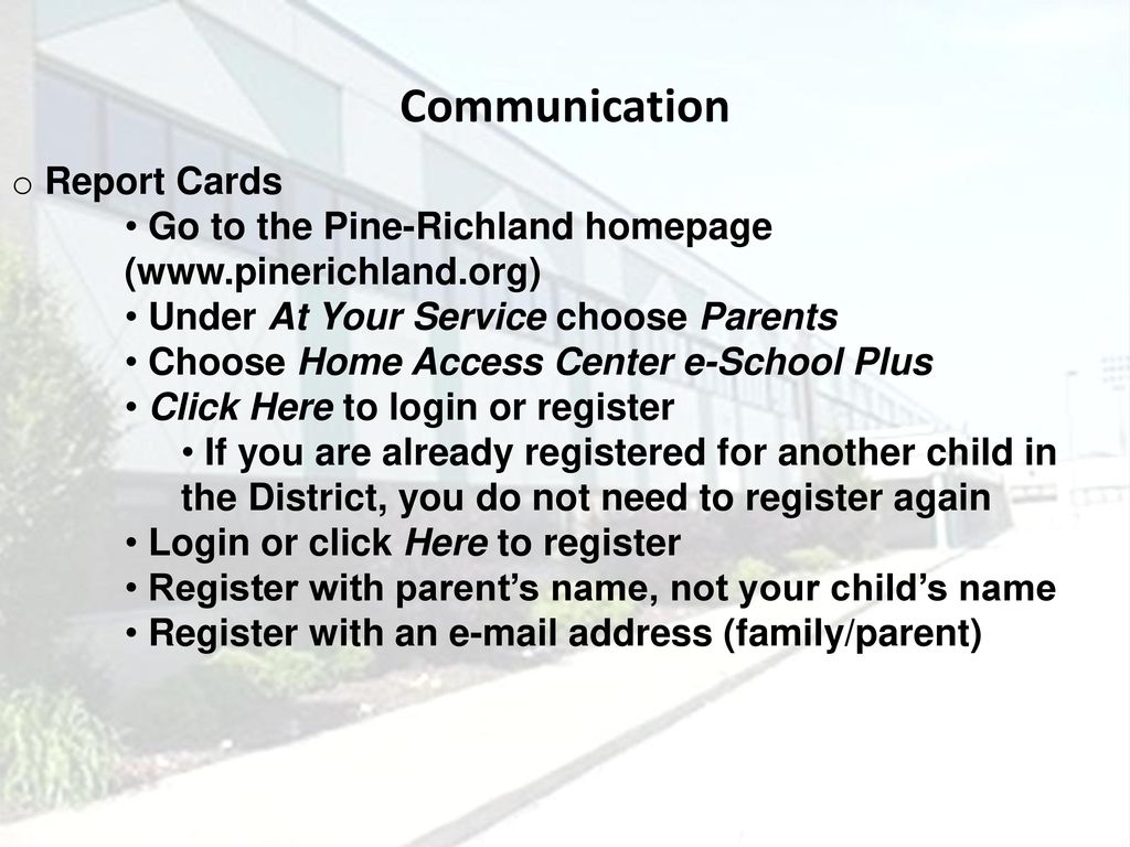 Richland Elementary School Ppt Download