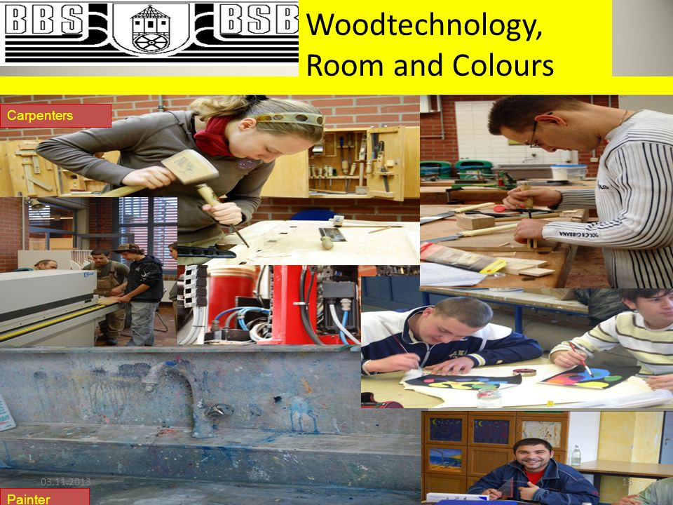 Woodtechnology, Room and Colours