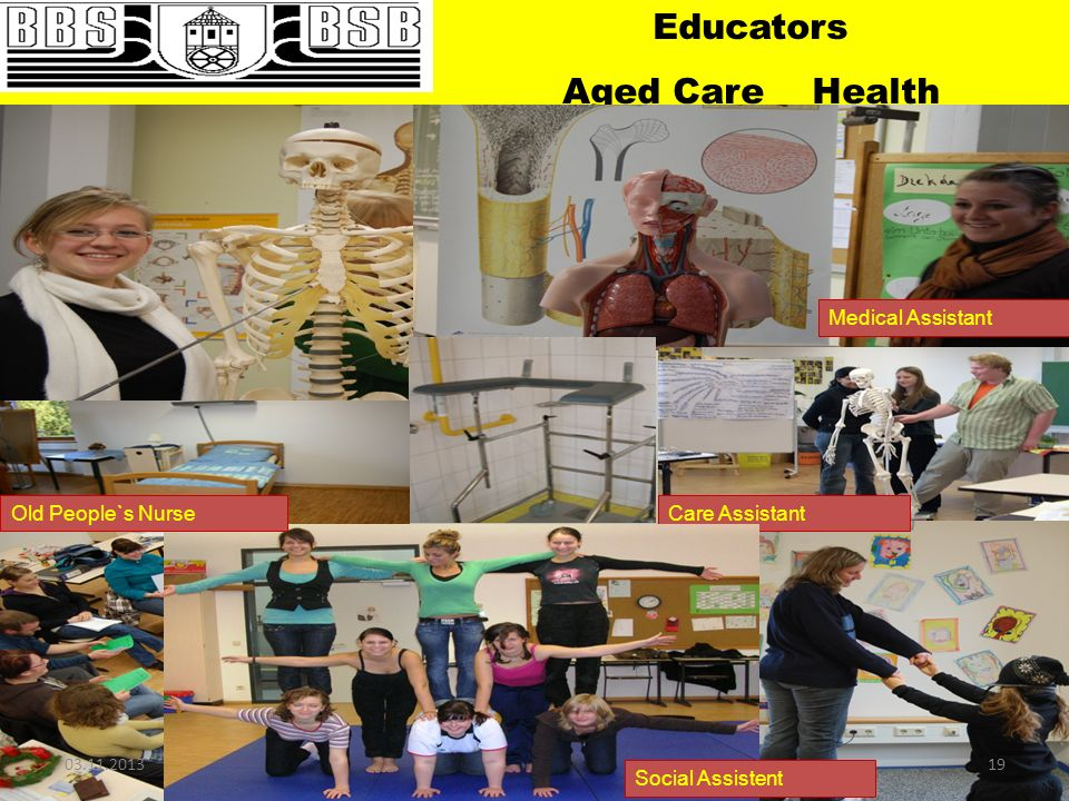 Educators Aged Care Health Medical Assistant Old People`s Nurse