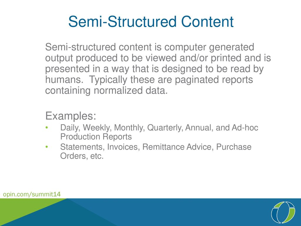 Output and Report Management in ECM - ppt download