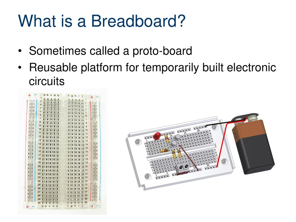 Breadboarding And Electronic Components Ppt Download Circuits Electronics 2 What