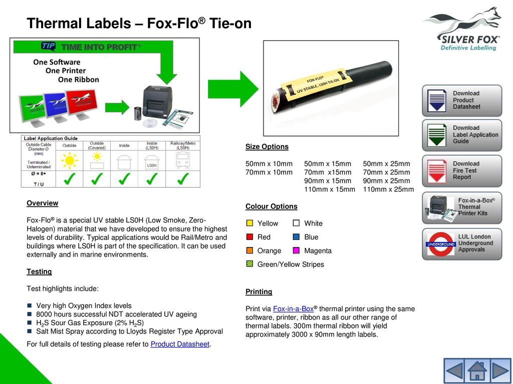 Label Solutions Guide The simplest labelling solutions on