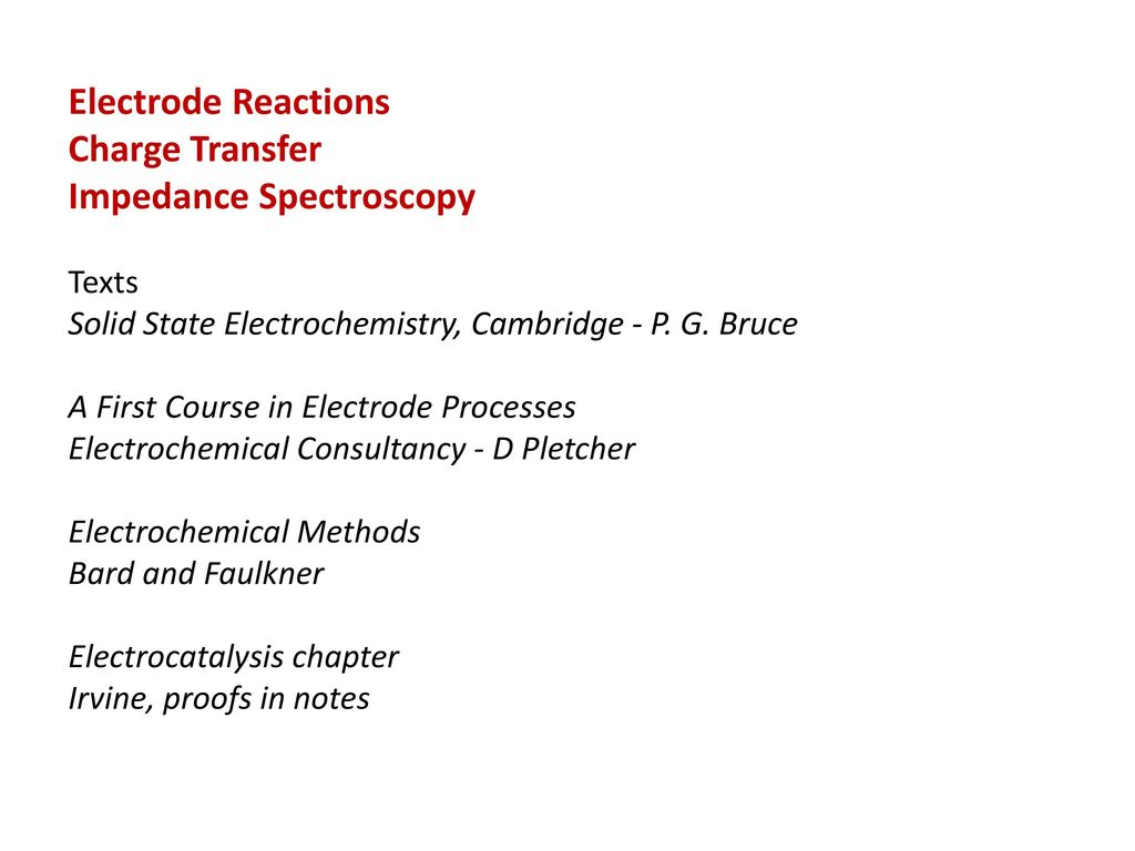 CH5715 Energy Conversion and Storage - ppt download
