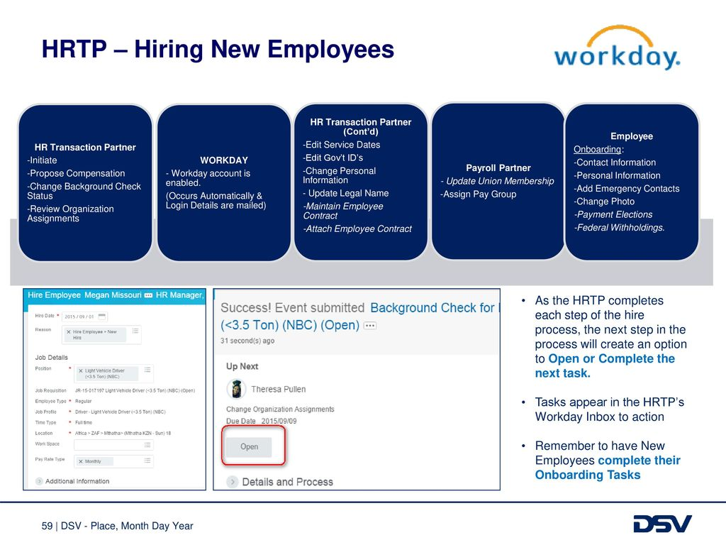 Workday Training HR Technology Team - ppt download