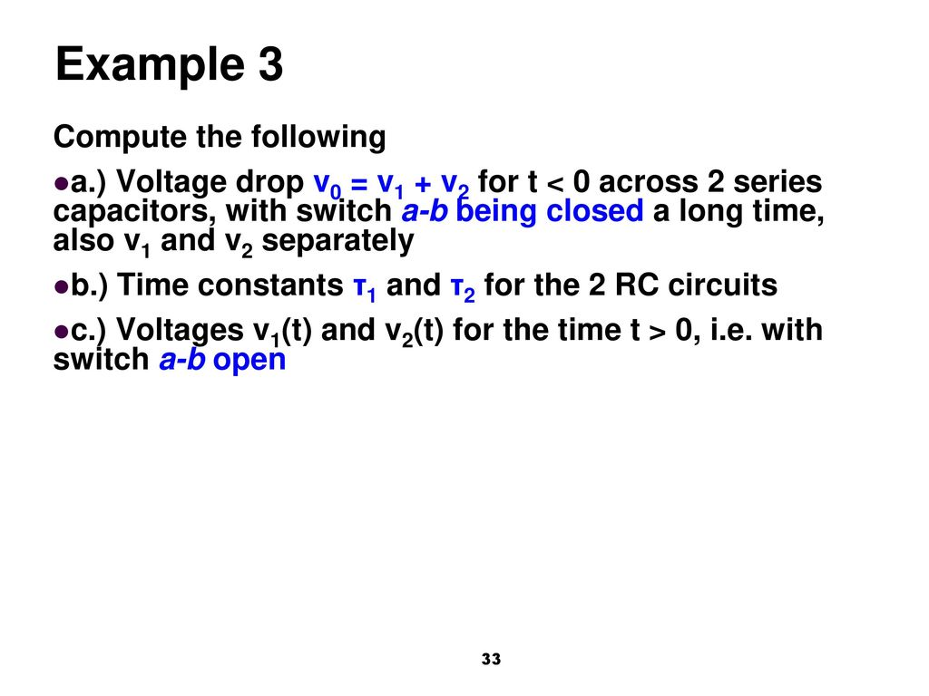 Syllabus Definition Natural Response Compute It Pt And Wt Find The Norton Equivalent With Respect To 20uf Capacitor 34 Example