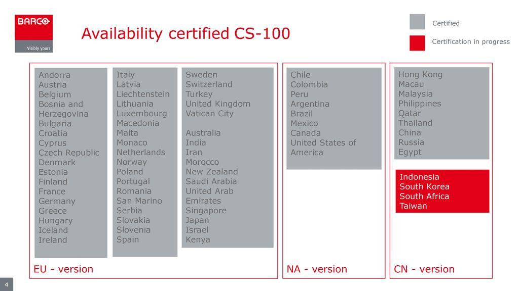 Certification Cs 100 Cse 200 Csc 1 Ppt Download