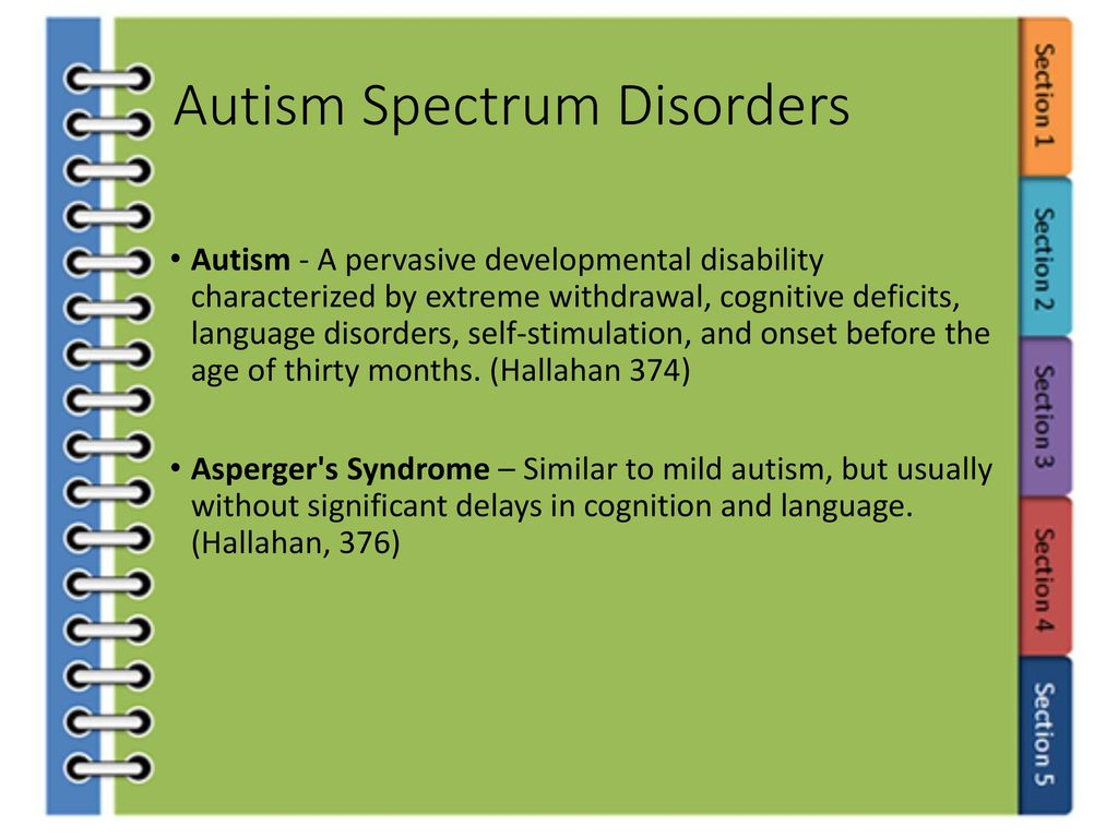 autism and asperger's syndrome - ppt download