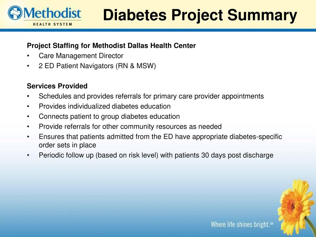 Diabetes Management DSRIP Project - ppt download