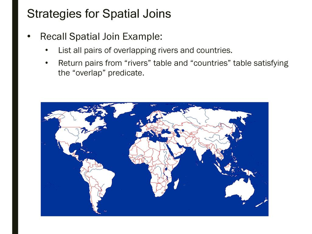 Strategies for Spatial Joins - ppt download