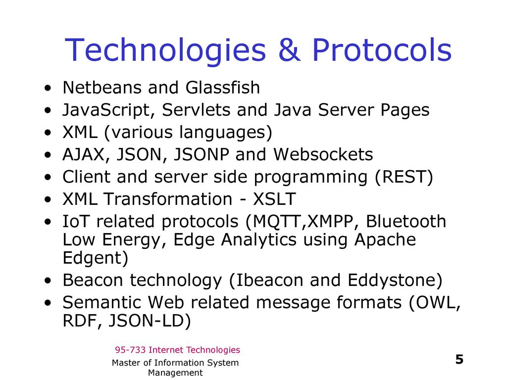 Internet Technologies - ppt download