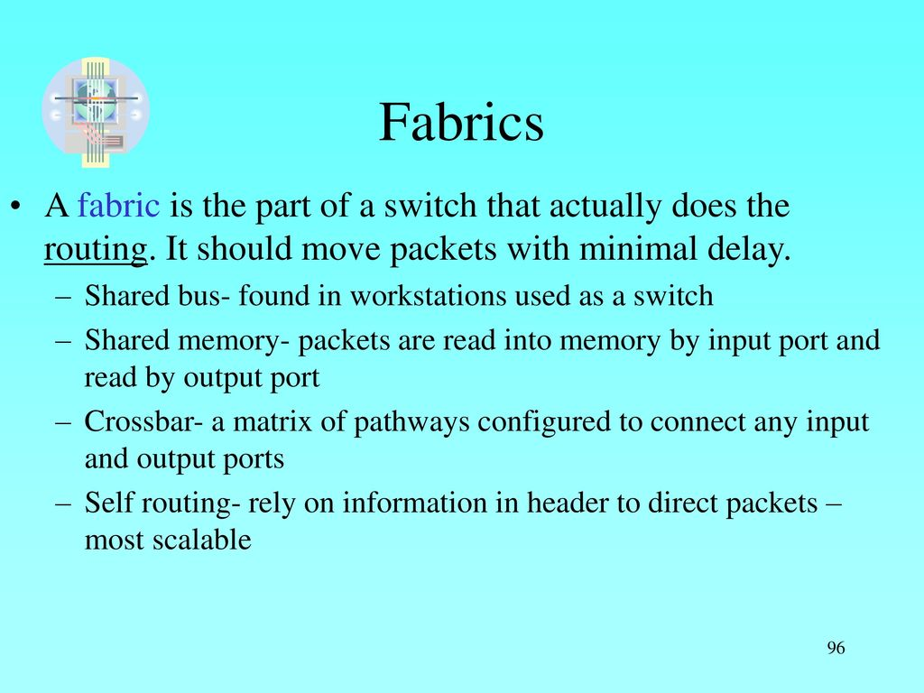 Com Ppt Download Matrix Or Crossbar Switching Fabrics A Fabric Is The Part Of Switch That Actually Does Routing It