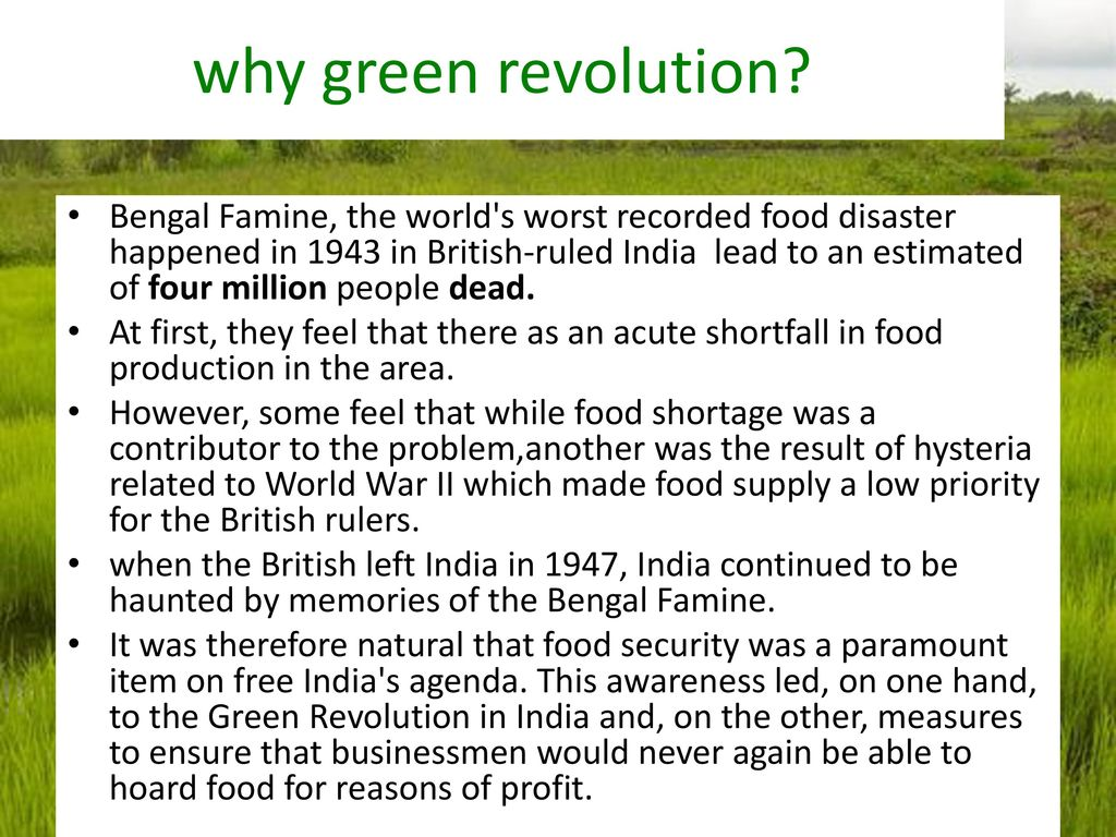 first revolution in india