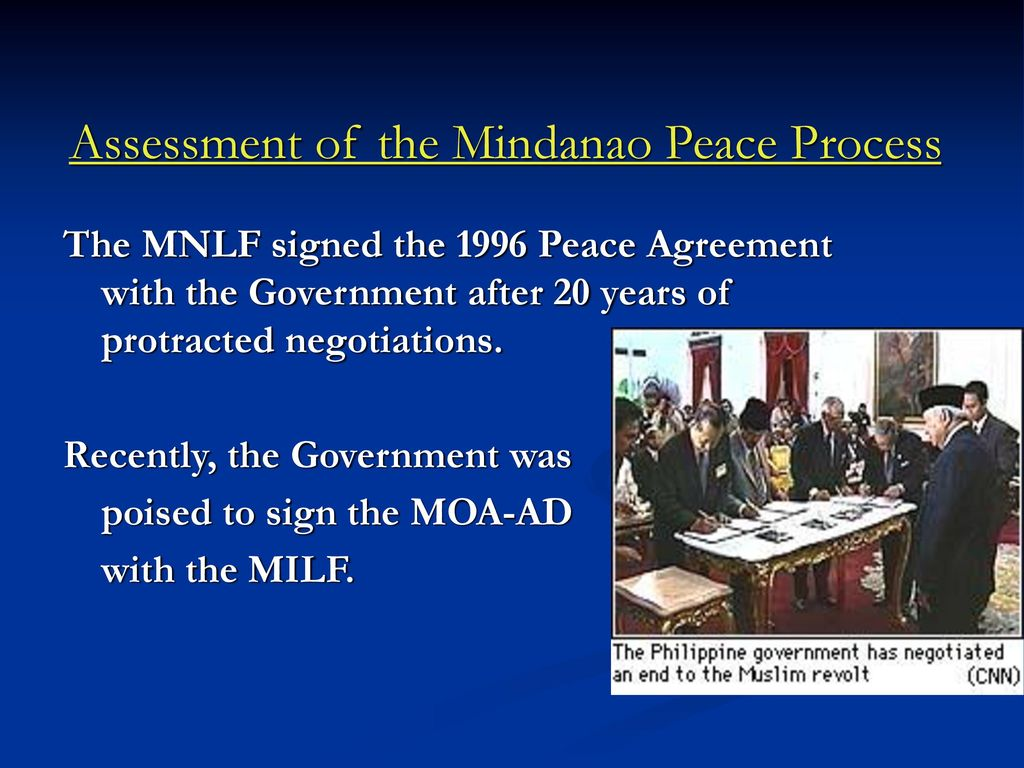 Understanding The Conflict Situation In Mindanao Ppt Download