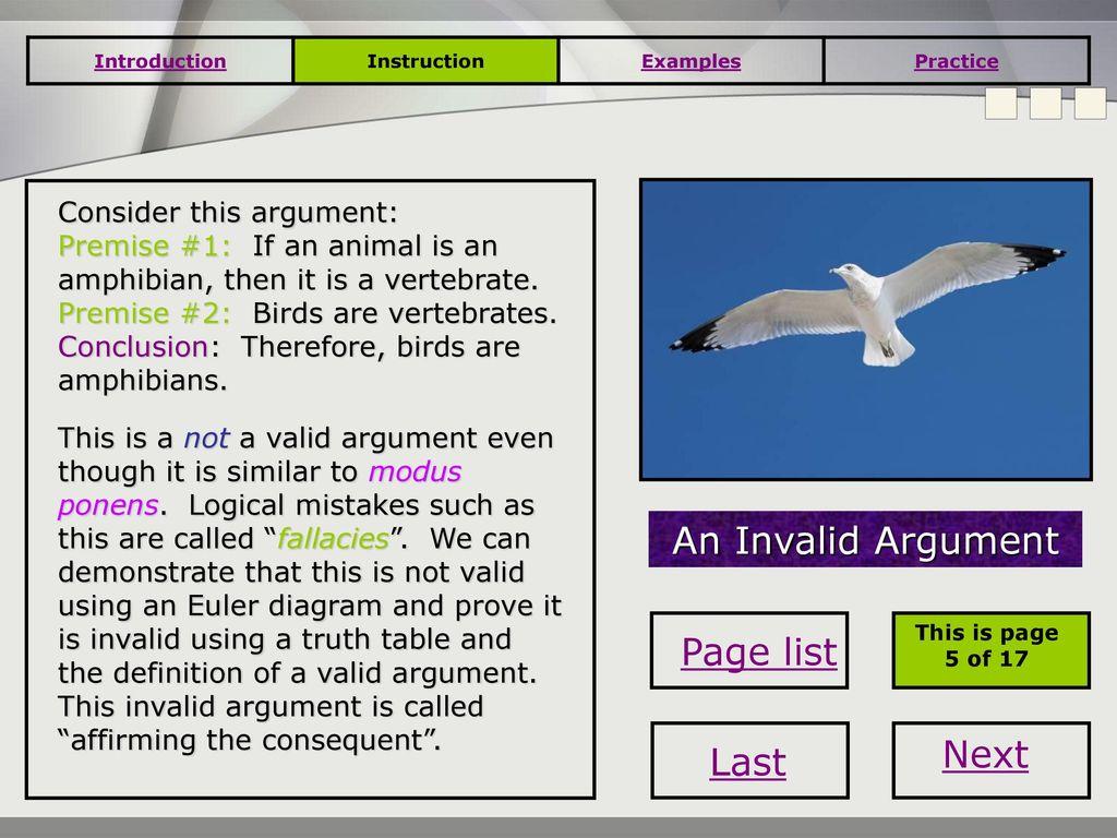 Deductive Reasoning Valid Arguments Ppt Download Logic Euler Diagram 9 An