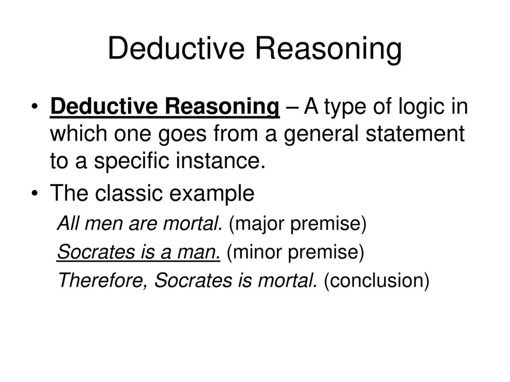 Inductive Vs Deductive Reasoning Examples Gallery Example Cover