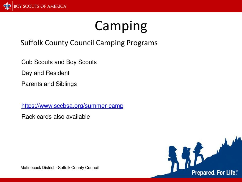 Suffolk County Council Camping Programs - ppt download