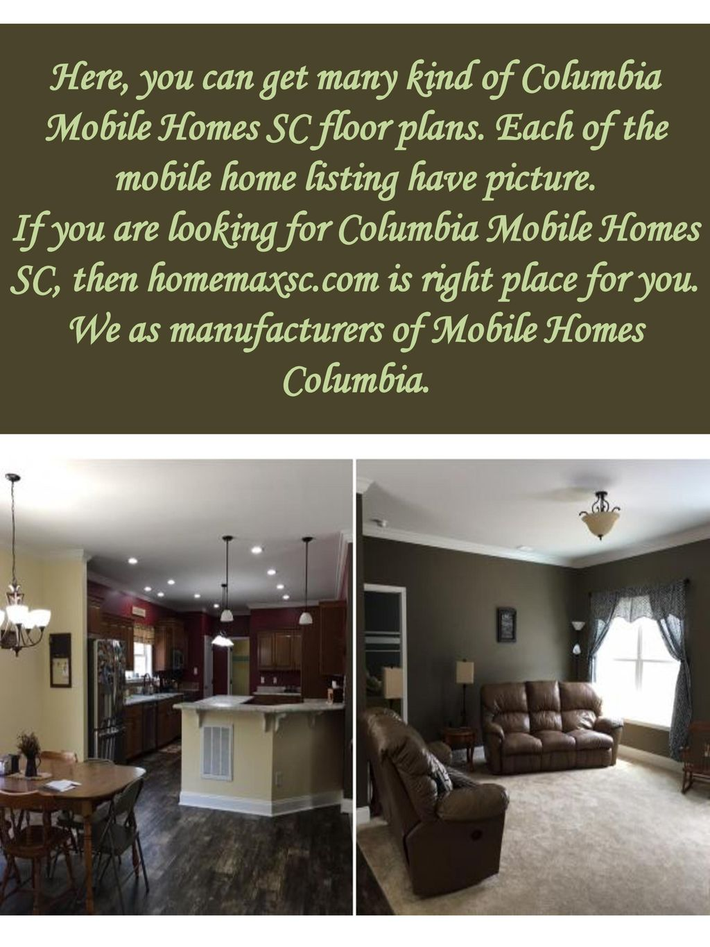 Here, you can get many kind of Columbia Mobile Homes SC floor plans