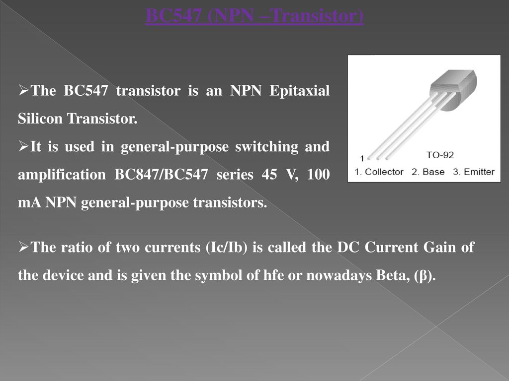 Charge And Load Protection In Solar Power Management Ppt Download With Panel Schematic Diagram Also Npn Pnp Transistor Bc547 The Is An Epitaxial Silicon
