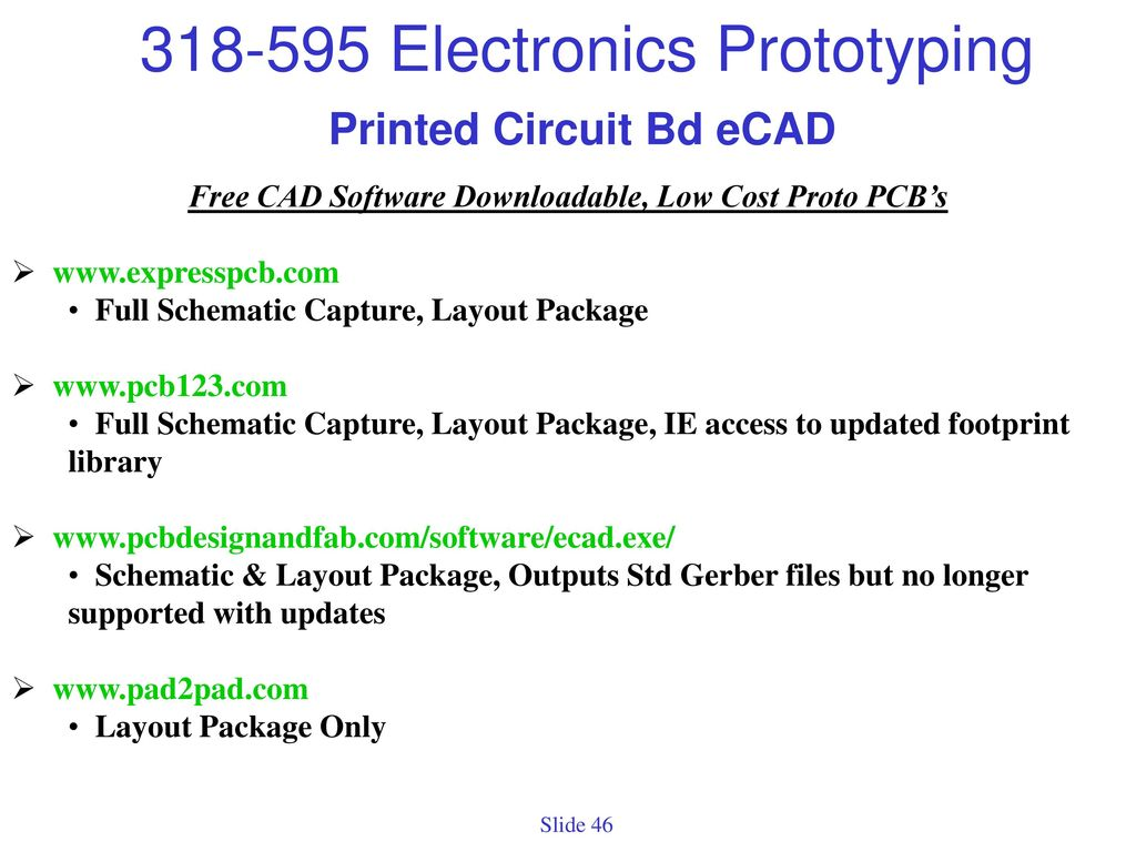 Project Prototypes Prototype Definition Initial Electrically Technical Expresspcb Schematic And Pcb Design Software New Version 46 Printed Circuit Bd Ecad