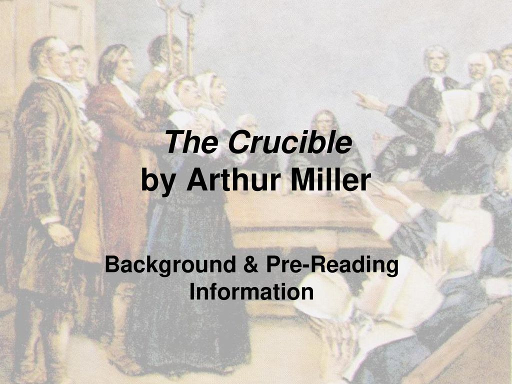 how historically accurate is the crucible