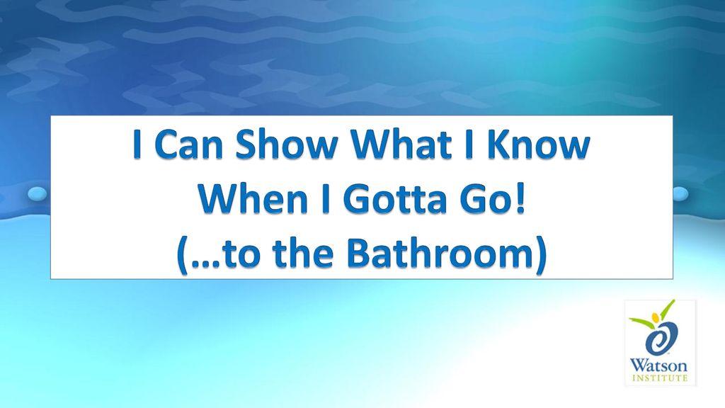 Perfect Go To The Bathroom Exterior