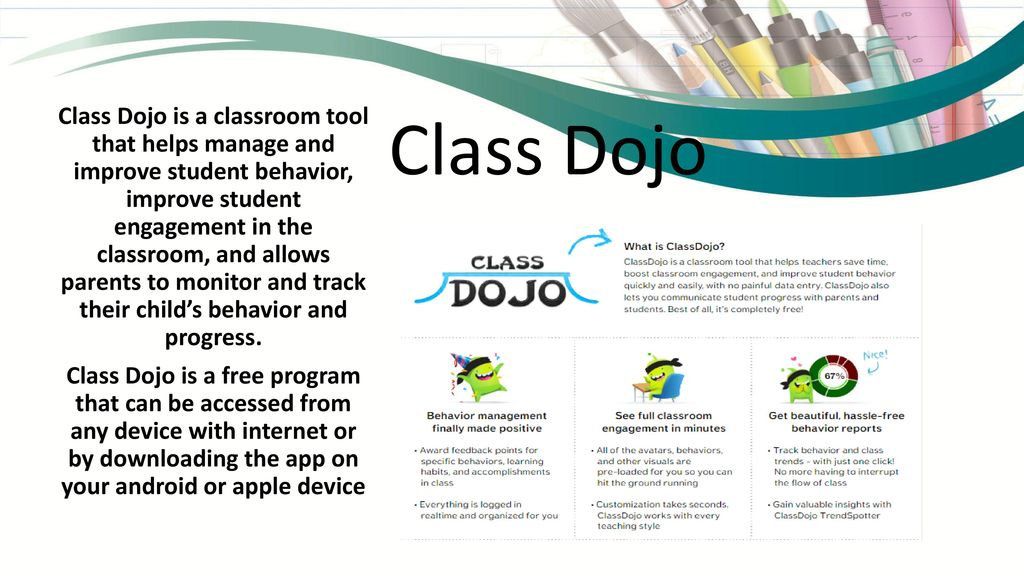 Integrated Classroom Management Tools Class Dojo Brain