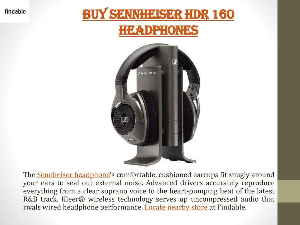 Buy Sennheiser Headphones Headsets Ppt Download Headphone Wiring Diagram Hdr 160