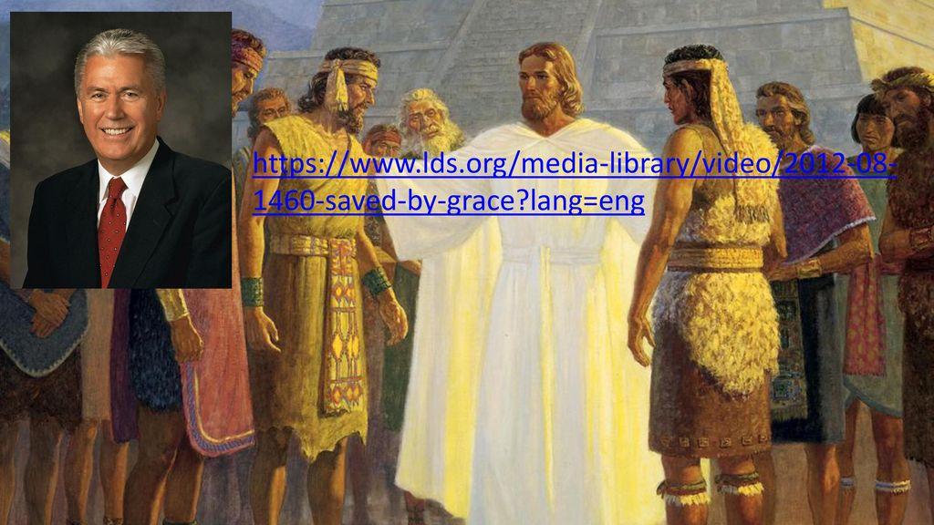 Teachings & Doctrine of the Book of Mormon Salvation Comes thru
