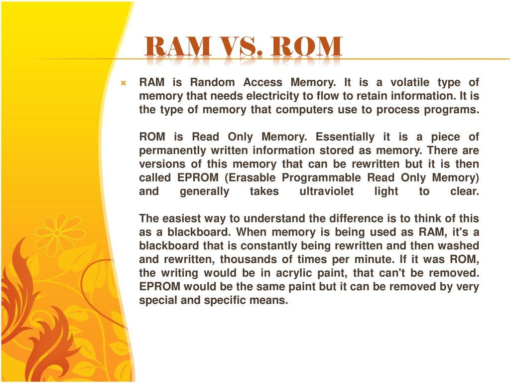 Read Only Memory Rom Ppt Download Erasable Programmable Readonly Integrated Circuits These 24 Ram