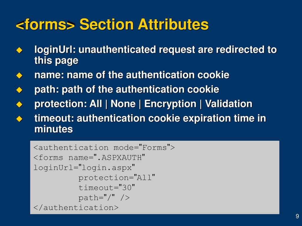 Agenda Introduction Security flow for a request Authentication - ppt
