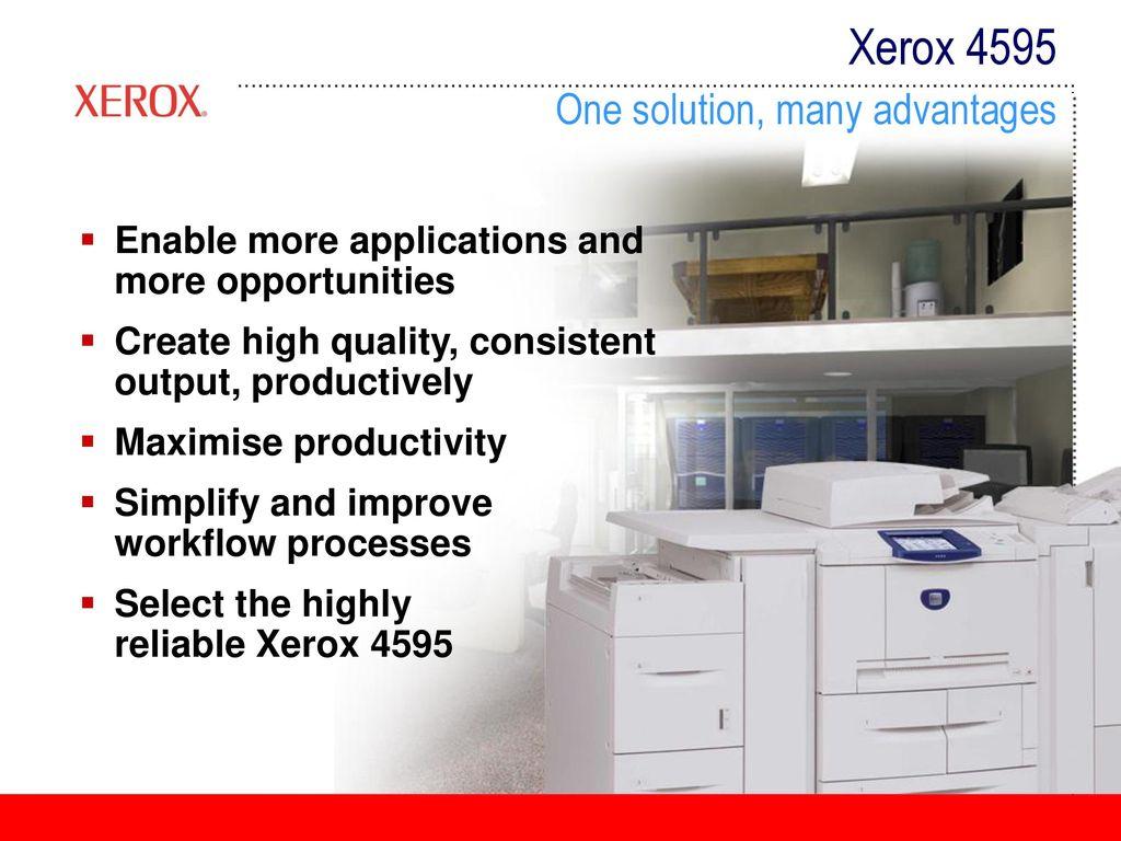 XEROX 4595 PS WINDOWS DRIVER DOWNLOAD