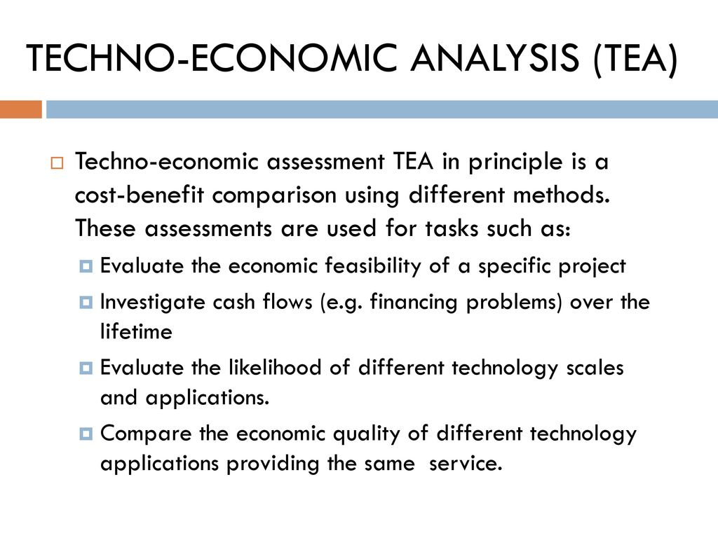 FEASIBILITY STUDY (TECHNO-ECONOMIC ANALYSIS) - ppt download