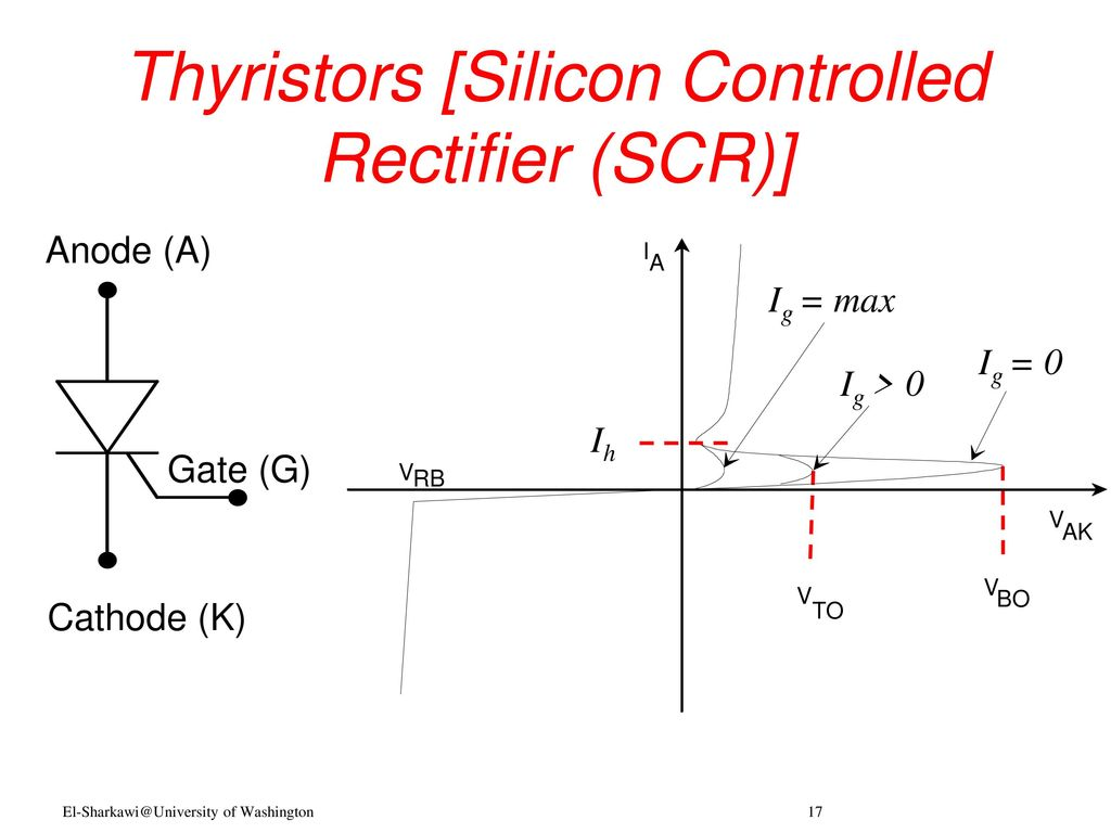 Power Electronics Professor Mohamed A El Sharkawi Ppt Download Scr Silicon Controlled Rectifier Thyristors