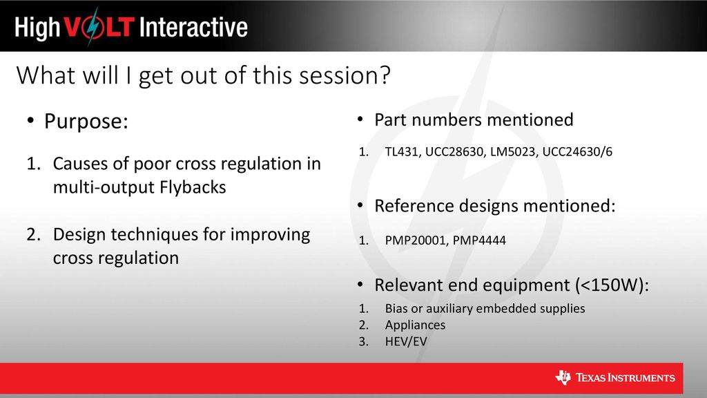 Multiple Output Flybacks: How to Improve Cross Regulation