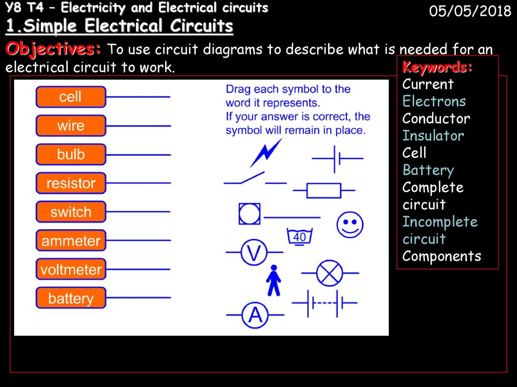 Y8 T4 Electricity And Electrical Circuits 1 Ppt Download Ammeter Circuit Diagram