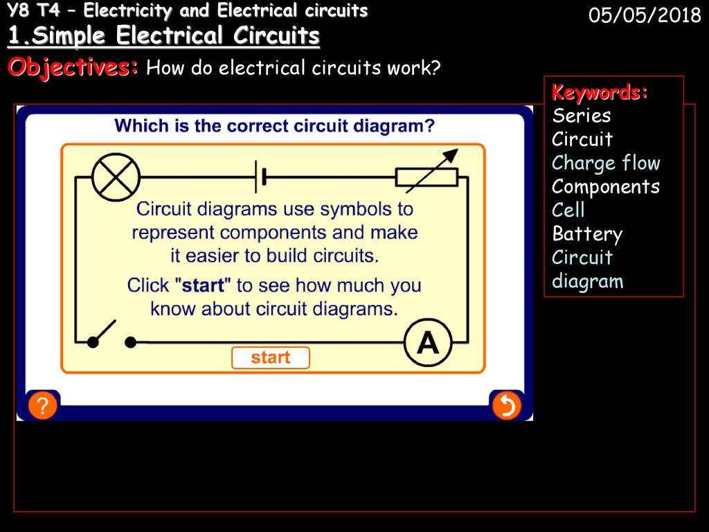 Y8 T4 Electricity And Electrical Circuits 1 Ppt Download How To Make Electric Circuit Objectives Do Work