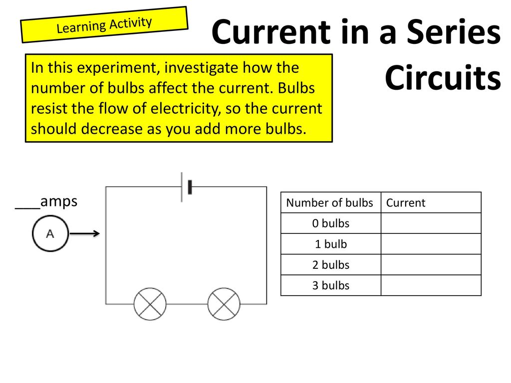 entrance activity is on the next slide ppt download rh slideplayer com Total Current Series Circuit Calculate Series Circuit Current