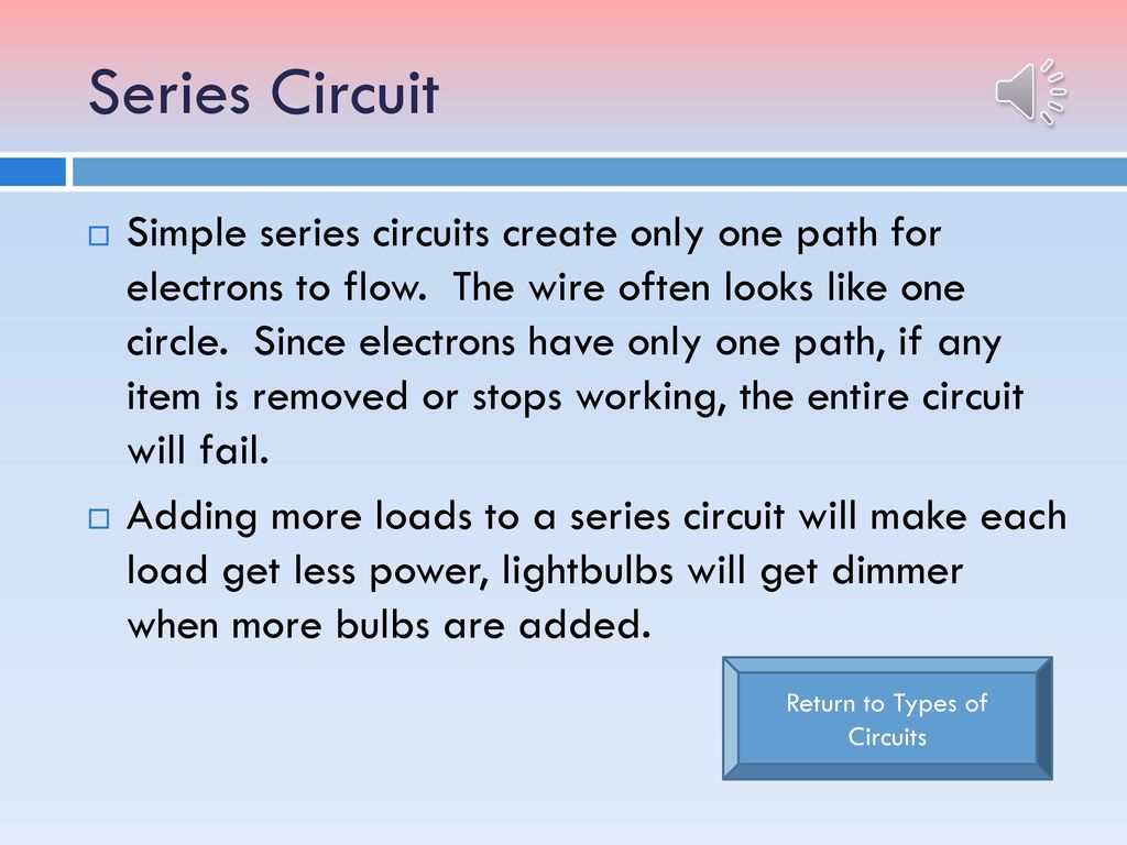 Miss Dalys 4th Grade Class Ppt Download Making The Series Circuits Students Got To Work On Their Parallel Return Types Of