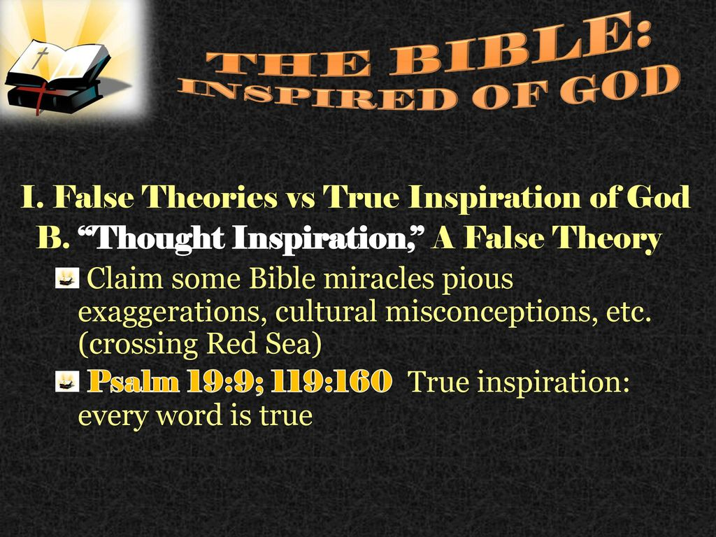 the inspiration of the bible ppt download