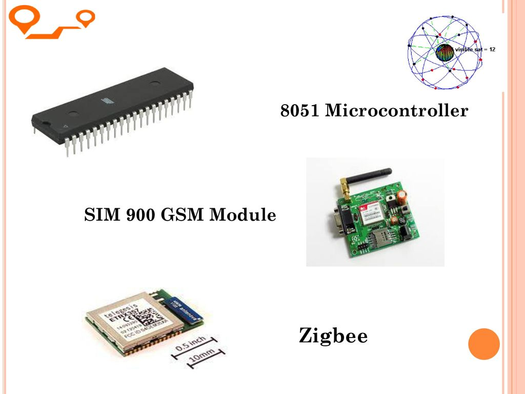 Device Tracking Using Embedded Gps And Zigbee Technology Ppt Download Gsm Modem Interface With 8051 Microcontroller 11 Sim 900 Module