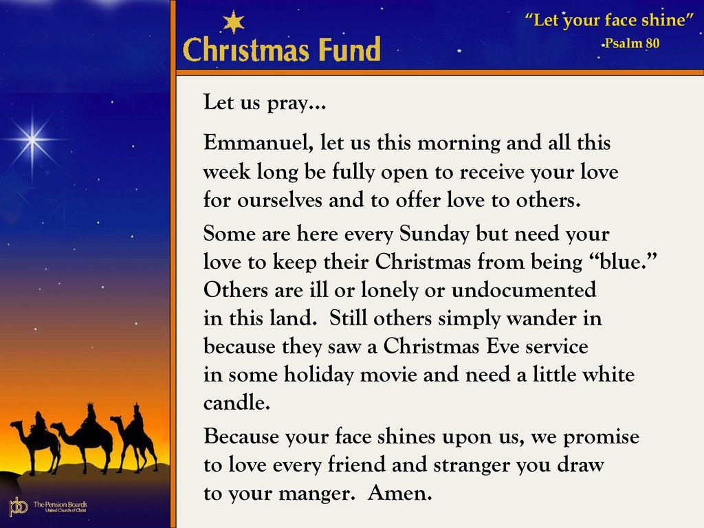 2011 Christmas Fund Advent Candle Liturgy - ppt download