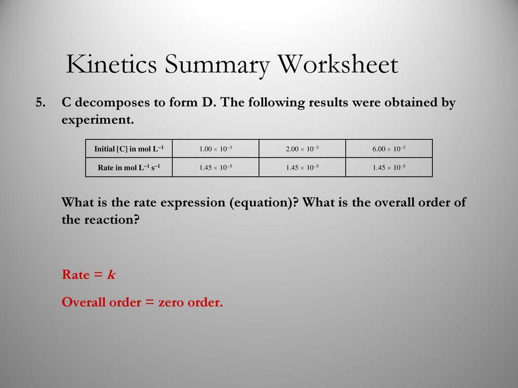 Unit 3: Chemical Kinetics - ppt download