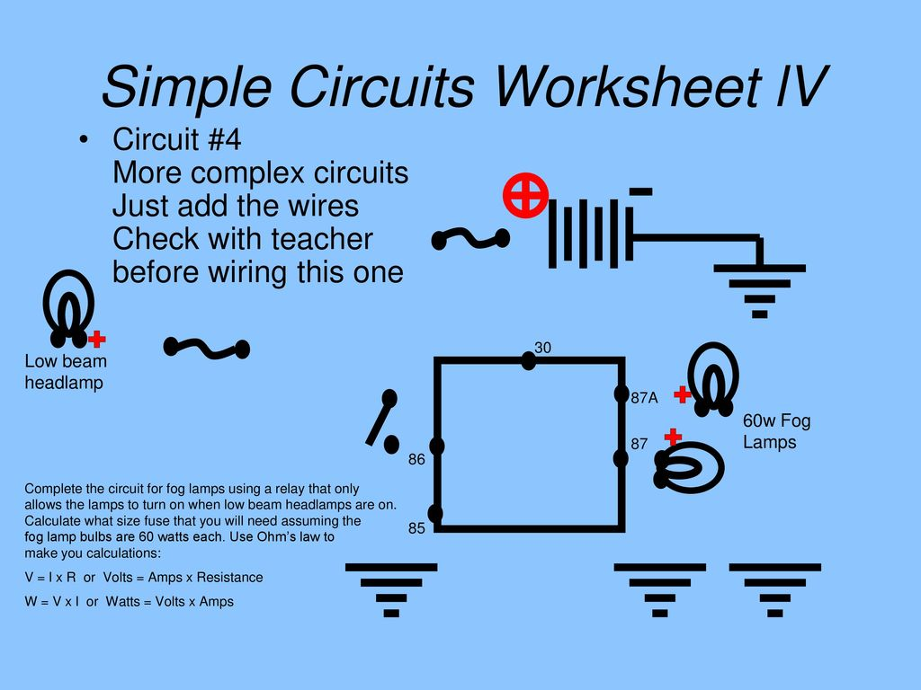 You build the following circuits - ppt download