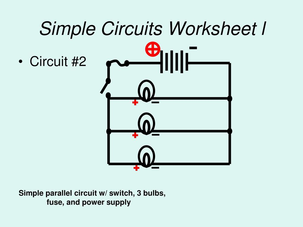 You Build The Following Circuits Ppt Download Simple Circuit With Switch Diagram For 5 Worksheet L
