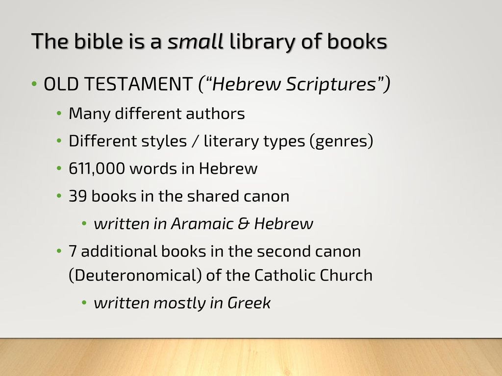 learning how to read the bible - ppt download