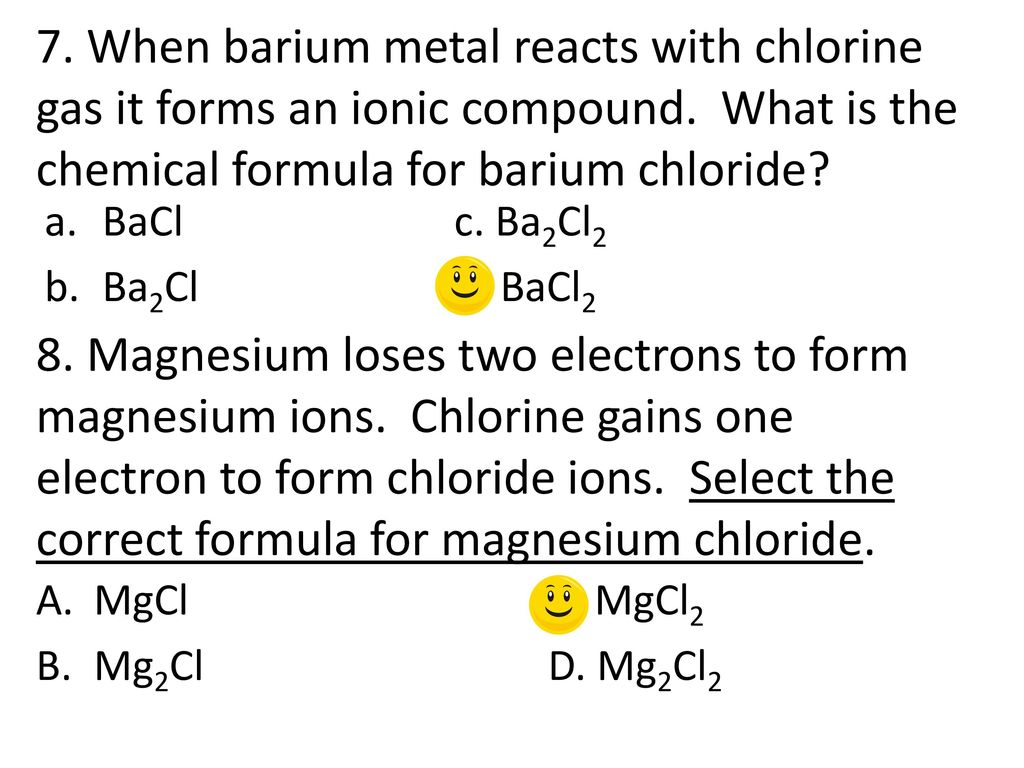 2 Which Pair Of Elements Will Likely Form An Ionic Bond Ppt Download