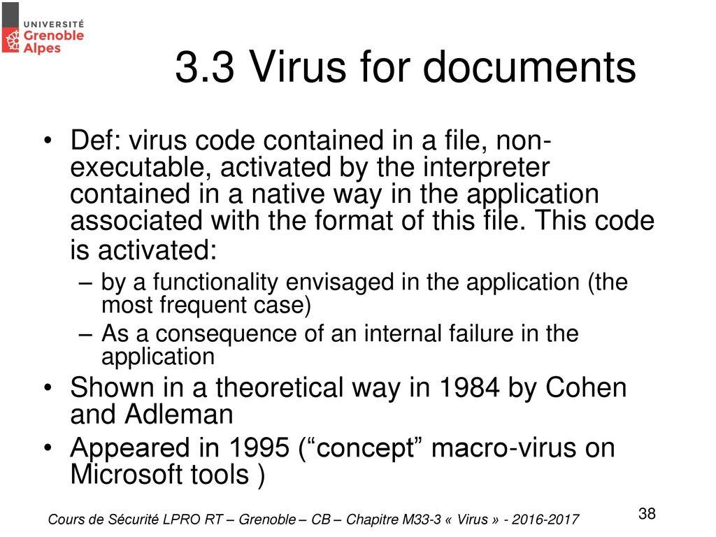 M33-3  Cyber Menaces et Cyber réponse - ppt download
