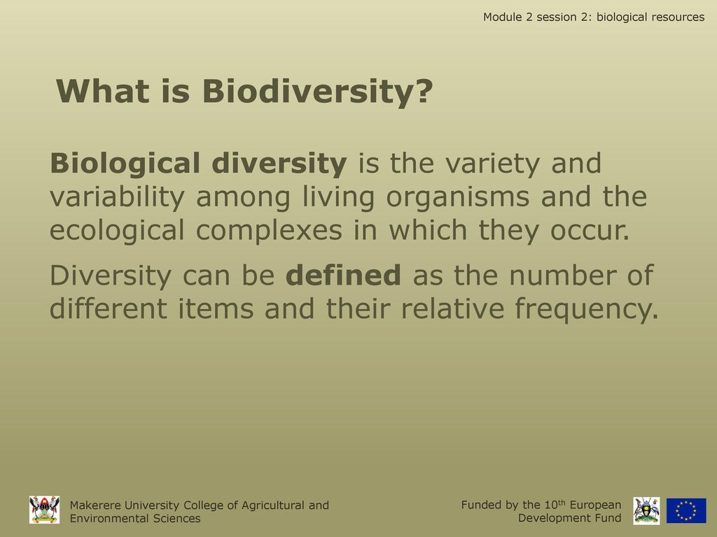 planning & management of biological resources - ppt download